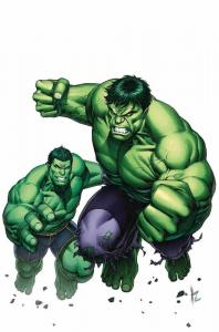 Generations Totally Awesome Hulk Poster by Dale Keown (24 x 36) Rolled/New!
