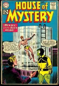 HOUSE OF MYSTERY #122-MENACE OF THE ALIEN HERO-DC VG