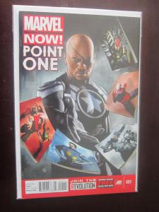 Marvel Now Point One #1 A - VF - pulled from comic store newsstand - 2012
