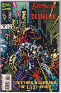Deathlok (vol. 2, 1991) #34 VF (Cyberstrike 4) Wright/Kobasic/Anthony Williams