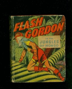 FLASH GORDON IN THE JUNGLES OF MONGO-#1424-BIG LITTLE BOOKS-ALEX RAYMOND A VG
