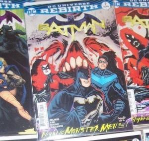 Batman # 7 2017 DC UNIVERSE REBIRTH  night of the monster men pt 1 nightwing