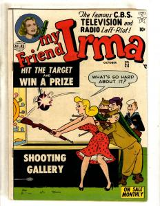 My Friend Irma # 24 FN Atlas (Marvel) Comic Book CBS TV Radio Teenage Humor JL2