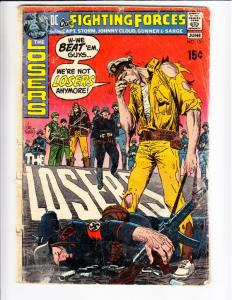 Our Fighting Forces #131 (Jun-71) GD Affordable-Grade The Loosers