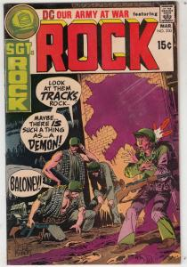 Our Army at War #230 (Mar-71) FN/VF Mid-High-Grade Easy Company, Sgt. Rock
