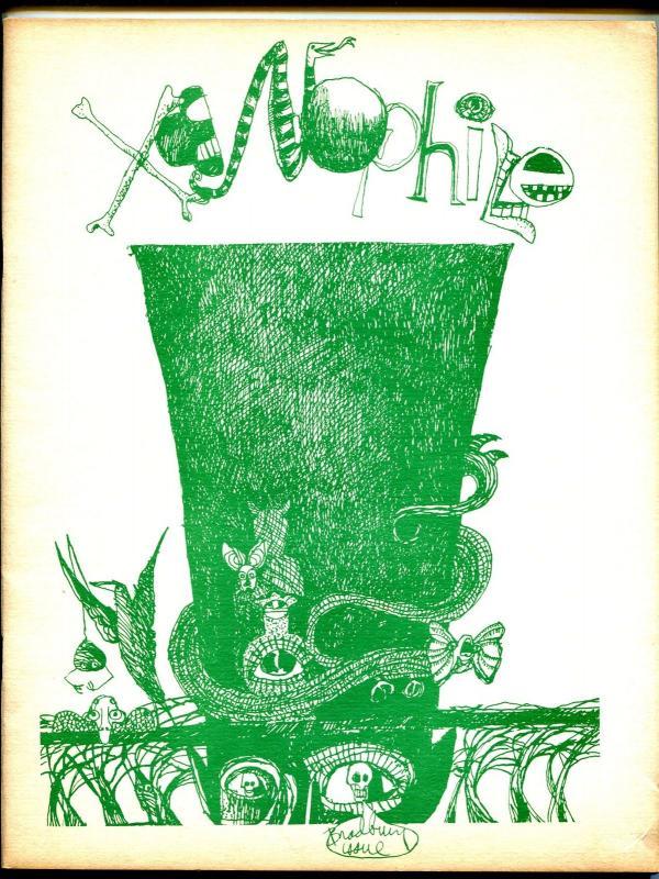 Xenophile  #13 1975-pulp collectors fanzine-Ray Bradbury index-VG