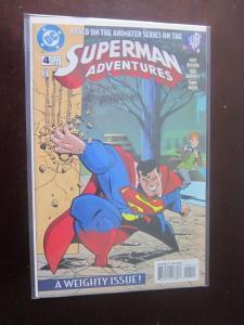 Superman Adventures (1996) #4 - 8.5 VF+ - 1997