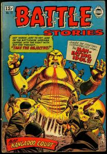 Battle Stories #17 1964- Brutal POW story- Man Eating Idol VG