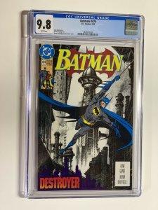 Batman 474 cgc 9.8 wp dc comics