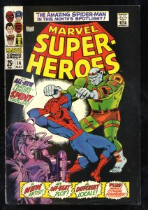 Marvel Super-Heroes #14 FN 6.0 Spider-Man! Comics