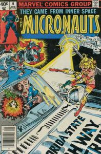 Micronauts (Vol. 1) #6 FN; Marvel | save on shipping - details inside