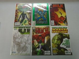 Hulk Specials comic lot 18 different issues avg 8.0 VF