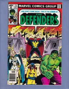 Defenders #75 VF Foolkiller Marvel 1979