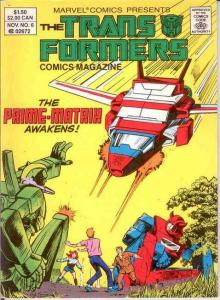 TRANSFORMERS  COMICS DIGEST (1987-1988) 6 VF-NM