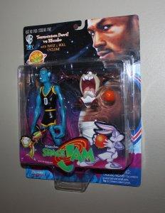 Michael Jordan Space Jam: Tasmanian Devil & Blanko Figure MOC  1996