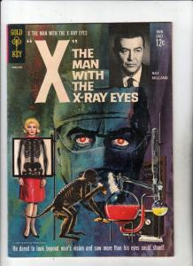 Movie Comics The Man With The X-Ray Eyes #10083-309 (Sep-63) VF High-Grade X,...
