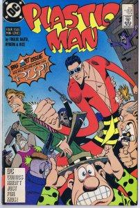 Plastic Man #1 ORIGINAL Vintage 1988 DC Comics