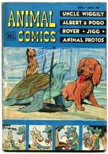 ANIMAL COMICS #30 1948-SEA TURTLE COVER-KELLY-J STANLEY G