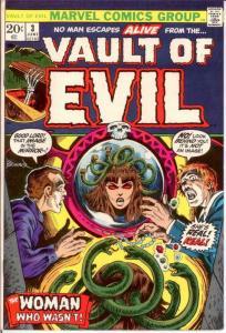 VAULT OF EVIL (1973) 3 VF June 1973 COMICS BOOK