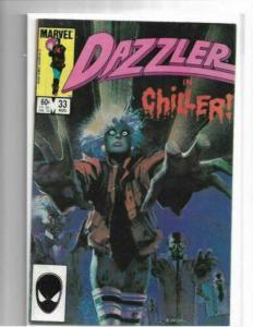 DAZZLER #33 Comics Sienkiewicz Cover Art Michael Jackson Thriller VF