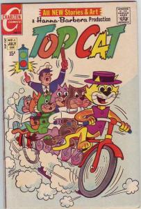 Top Cat #5 (Jul-71) NM- High-Grade Top Cat and Crew