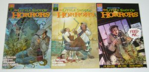 Welcome to the Little Shop of Horrors #1-3 VF/NM complete series - roger corman