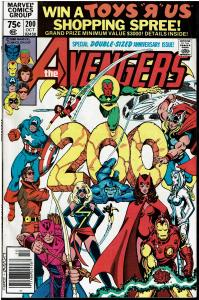 Avengers #200, 9.0 or Better *KEY Controvertial Issue* Carol Danvers Raped (8)