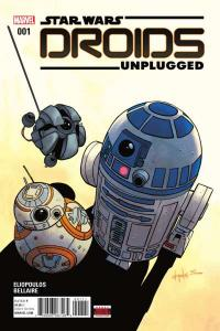 Star Wars: Droids Unplugged #1, NM + (Stock photo)