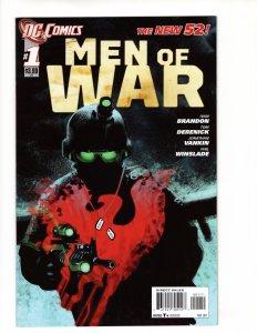 MEN OF WAR #1 (8.5-9.0) No Resv! 1¢ Auction!
