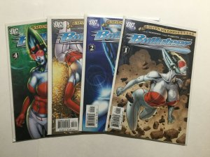 Bulleteer 1-4 1 2 3 4 Lot Run Set Near Mint Nm Dc Comics