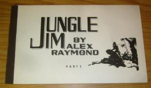 Jungle Jim by Alex Raymond part 1 SC FN+ softcover collection from 1972 rare I