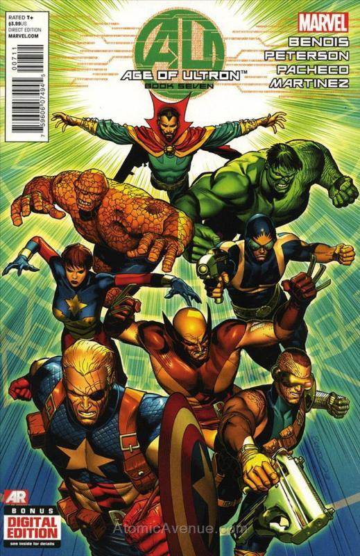 Age of Ultron #7 VF/NM; Marvel | combined shipping available - details inside
