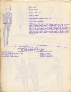 Comic Fandom News-Letter #2 1964-Charles Korbas-superhero illustartions-FN-