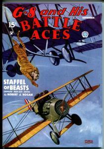 G-8 & His Battle Aces #24 9/1935-Adventure House reprint-2007-Hogan-pulp-VF/NM