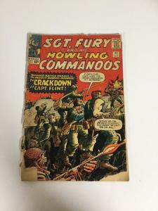 Sgt. Fury And His Howling Commandos 11 Pr Poor 0.5 Spine Split Cover Detached