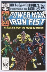 POWER MAN & IRON FIST #78, NM-, Luke Cage, 1974 1982, Kung-Fu, 3rd Sabretooth