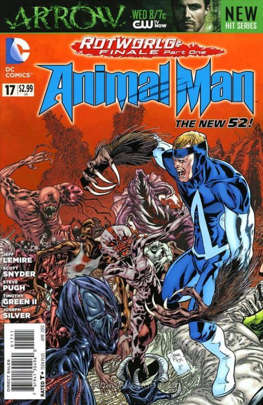 Animal Man (2nd Series) #17 VF/NM; DC | save on shipping - details inside