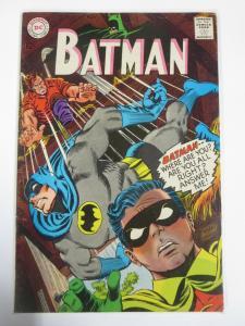 BATMAN 196 VERY GOOD+ November 1967 COMICS BOOK