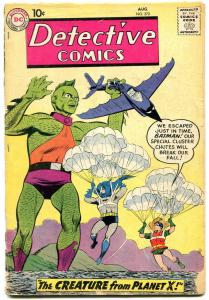 Detective #270 1959-DC-Robin-Batman-John Jones-parachute cover-FAIR