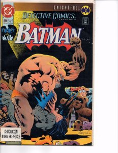 DC Comics Detective Comics #659 Batman; Knightfall Part 2 1st print Jones Cover