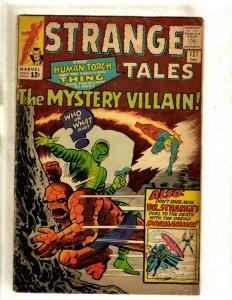 Strange Tales # 127 VG/FN Marvel Comic Book Human Torch Thing Dr. Strange RS2