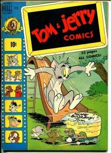 Tom & Jerry #67 1950-Dell-MGM Cartoons-Barney Bear-Benny Burro-FN+