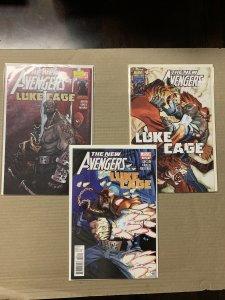 New Avengers Limited Series Luke Cage Complete Set Marvel Comics