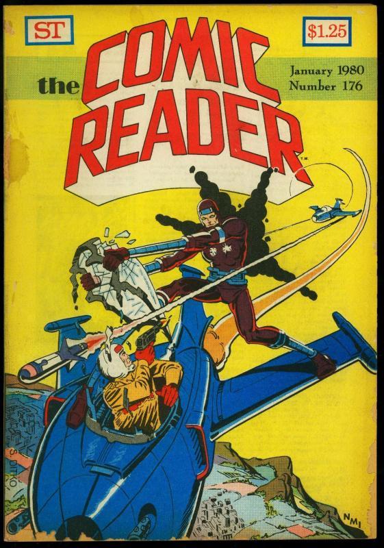 Comic Reader #176 1980- Fanzine-Ditko Machine Man cover G
