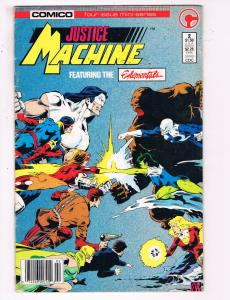 Justice Machine Feat. The Elementals #2 VF Comico Comic Book DE21