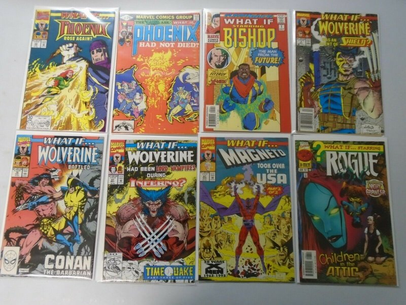 What If? lot 16 different X-Men issues 8.0 VF