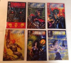 Terminator Hunters And Killers 1-3 Endgame 1-3 Near Mint Lot Set Run