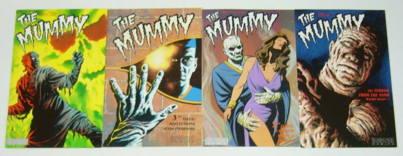 the Mummy #1-4 VF/NM complete series - monster comics - universal monsters 2 3