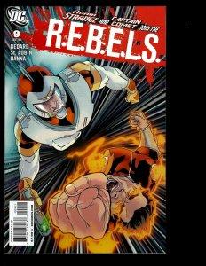 11 R.E.B.E.L.S. DC Comics # 9 10 11 12 13 14 15 16 17 18 19 Green Lantern GK24