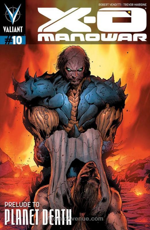 X-O Manowar (3rd Series) #10 VF/NM; Valiant | save on shipping - details inside